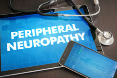 Peripheral neuropathy (neurological disorder) diagnosis medical Royalty Free Stock Photo