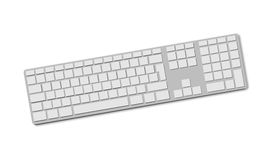 Peripherals Keyboard isolated Stock Photo