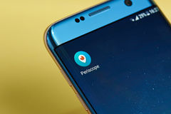 Periscope application icon Royalty Free Stock Photos