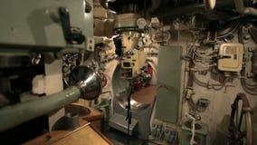 Periscope on board the submarine