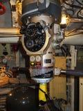 Periscopio dentro del submarino ruso Fotografía de archivo libre de regalías