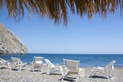 Perissa plaża Obraz Royalty Free