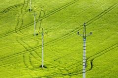 Peristyle elettrico Fotografia Stock