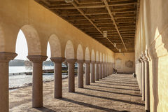Peristyle in Stockholm city hall Royalty Free Stock Photos
