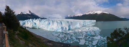 Perito莫尔诺冰川 免版税库存照片