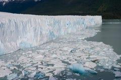 Perito莫尔诺冰川 库存图片