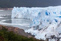 Perito莫尔诺冰川阿根廷 库存照片