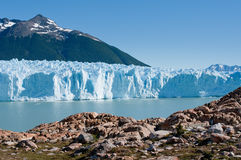 Perito莫尔诺冰川,巴塔哥尼亚,阿根廷 免版税图库摄影