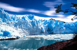 perito της Αργεντινής Moreno Στοκ Φωτογραφίες