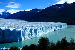 perito του Moreno παγετώνων της Αργεντινής Στοκ Φωτογραφίες