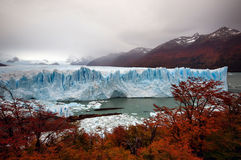 perito de Moreno de glacier Photo stock