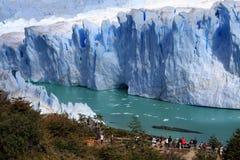 perito de Moreno de glacier Photo stock