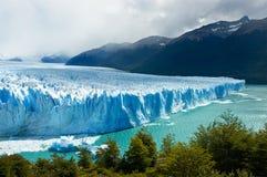 perito för argentina glaciärmoreno patagonia Fotografering för Bildbyråer