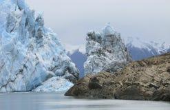 perito för glaciärmoreno patagonia arenaceous härligt dimensionellt diagram illustration södra tre för 3d Amerika mycket arkivfoto