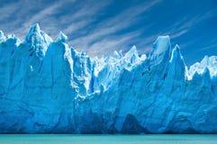 perito för argentina glaciärmoreno patagonia Arkivbild