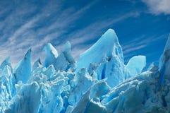 Perito lodowiec Moreno, patagonia, Argentyna. Obrazy Stock