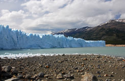 Perito Merino Glacier in Patagonia Royalty Free Stock Photo