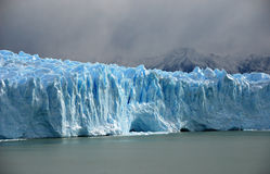 Perito Merino Glacier in Patagonia Stock Photos