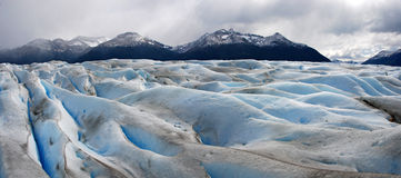 Perito Merino Glacier in Patagonia Stock Photo
