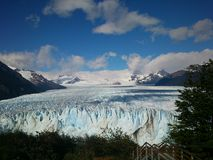 Perito Moreno Παταγωνία στοκ φωτογραφία με δικαίωμα ελεύθερης χρήσης