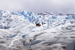 Perito Moreno. View of the famous Argentine glacier, Perito Moreno. In the town of El Calafate, Argentina Royalty Free Stock Image
