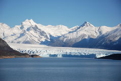 Perito Moreno. Landscape of Perito Moreno in El Calafate (Argentina Royalty Free Stock Photos