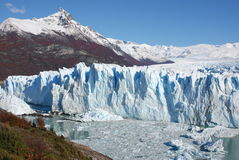 Perito Moreno. View of Perito Moreno Glacier in Calafate (Agentina Royalty Free Stock Photography
