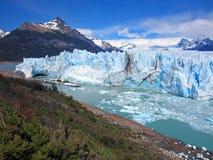 Perito Moreno. Calving Perito Moreno Galcier, Argentinia Royalty Free Stock Images