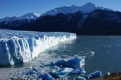 Perito Moreno del EL Foto de archivo libre de regalías