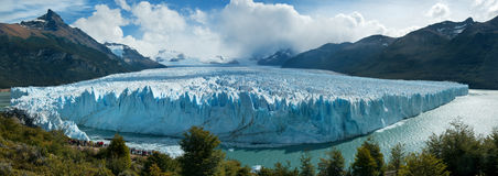 Perito Moreno Glacer, Argentina. Stock Photos