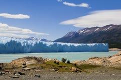 Perito Moreno glaciär Arkivbild