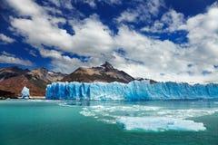 Perito Moreno glaciär Fotografering för Bildbyråer
