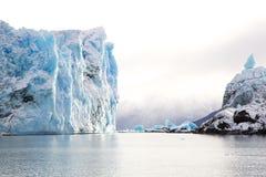Perito Moreno glaciär, Argentina Royaltyfria Foton