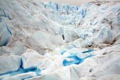 Perito Moreno glaciär, Patagonia, Argentina Arkivbilder