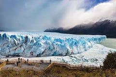 Perito Moreno. The Perito Moreno Glaciar in Argentina Stock Photography