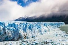 Perito Moreno. The Perito Moreno Glaciar in Argentina Stock Image