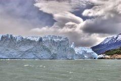 Perito Moreno glacier. View of the Perito Moreno glacier tongue on Lake Argentino, El Calafate, Argentina Stock Photo