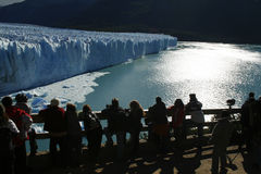 Perito Moreno Glacier. In Los Glaciares National Park, located in El Calafate, Argentina royalty free stock photography