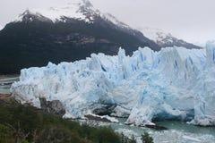 Perito moreno glacier. Majestic famous glacier, perito moreno glacier is one of the greatest turistic places in argentina Stock Photos