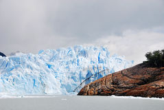 The Perito Moreno Glacier. Is a glacier located in the Los Glaciares National Park in the Santa Cruz province, Argentina. It is one of the most important Royalty Free Stock Image