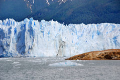 The Perito Moreno Glacier. Is a glacier located in the Los Glaciares National Park in the Santa Cruz province, Argentina. It is one of the most important Royalty Free Stock Photos