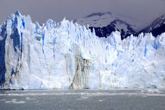 The Perito Moreno Glacier. Is a glacier located in the Los Glaciares National Park in the Santa Cruz province, Argentina. It is one of the most important Stock Photos