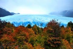 Perito Moreno Glacier in Argentijns Patagonië royalty-vrije stock foto's