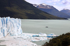Perito Moreno Glacier in Argentina. Royalty Free Stock Image