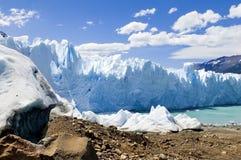 Perito Moreno Glacier in Argentina. Beautiful Glacier Perito Moreno in Argentina Royalty Free Stock Image