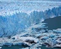 Perito Moreno Glacier, Argentina. Blue ice of Perito Moreno Glacier, Argentina Royalty Free Stock Images