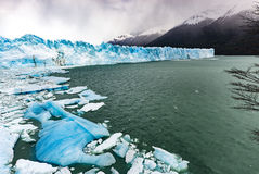 Perito Moreno Glacier. Argentina: October 2013 Royalty Free Stock Photos