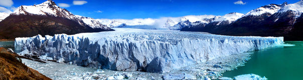 Perito Moreno Glacier, Argentine Images libres de droits