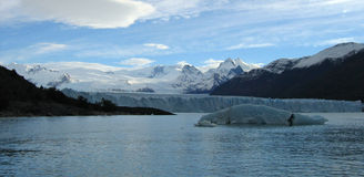 Perito Moreno Glacier, Argentinië Royalty-vrije Stock Foto
