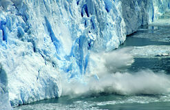 Perito Moreno Glacier, Argentinië Royalty-vrije Stock Foto's